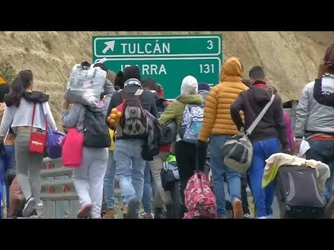 Colombia, Brazil and Peru hold meeting on Venezuelan migrant crisis
