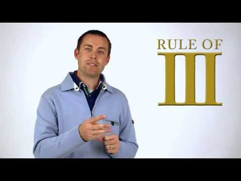 The Rule of Three - A Law of Effective Communication