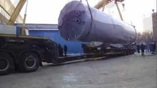 Негабаритные перевозки(Перевозка негабаритных грузов автотранспортом от Компании