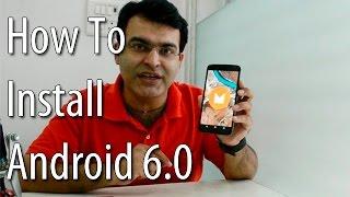 How To Install Android 6.0 Marshmallow On Nexus 5/6/9- Tutorial [Windows/Mac]