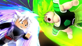 SUPERIOR INSTINCT VS. BROLY LEGENDARY IN ROBLOX FINAL STAND Z ‹ Ine ›