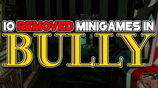 10 Removed Minigames in BULLY (Beta Analysis)