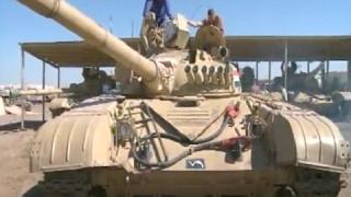 iraqi army works with czech army to train on t 72 tanks