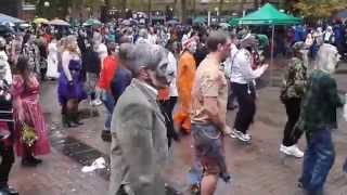Thrill the World at Seattle Pioneer Square October 25, 2014