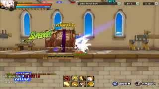 [Elsword KR] Asura - Title Oath of Ruin Test