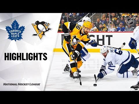 NHL Highlights | Maple Leafs @ Penguins 11/16/19