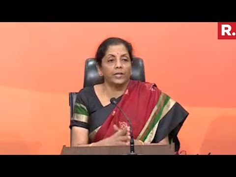 Nirmala Sitharaman's Press Conference On Nirav Modi Scam | Full Video