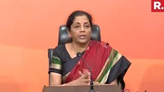 Nirmala Sitharaman's Press Conference On Nirav Modi Scam | Full Video