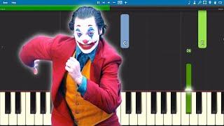 Gary Glitter - Rock  Roll Part II - Joker Soundtrack - Piano Tutorial