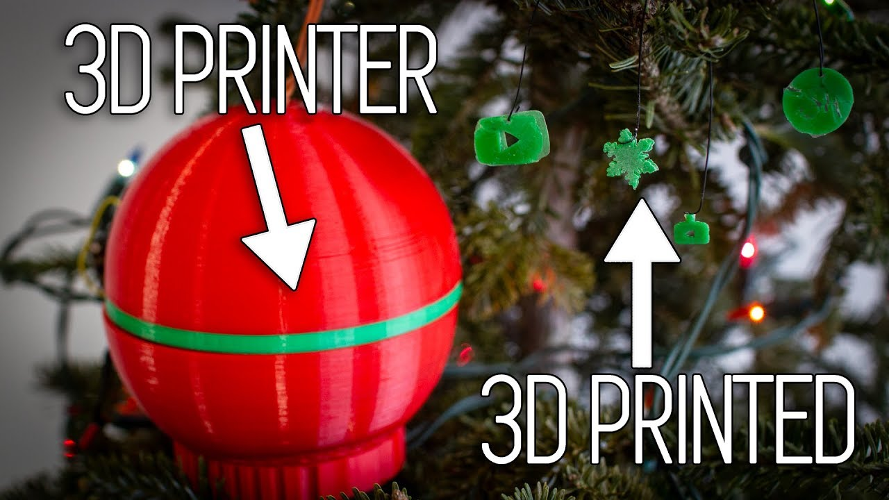3d Printed Christmas Ornaments.Ornamentception