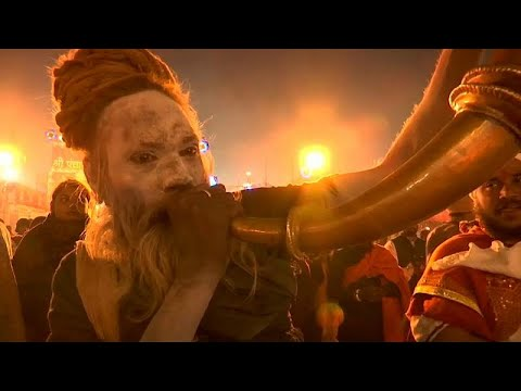 No Comment TV: Ash-smeared holy men attend India's Kumbh Mela
