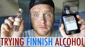TRYING FINNISH ALCOHOL