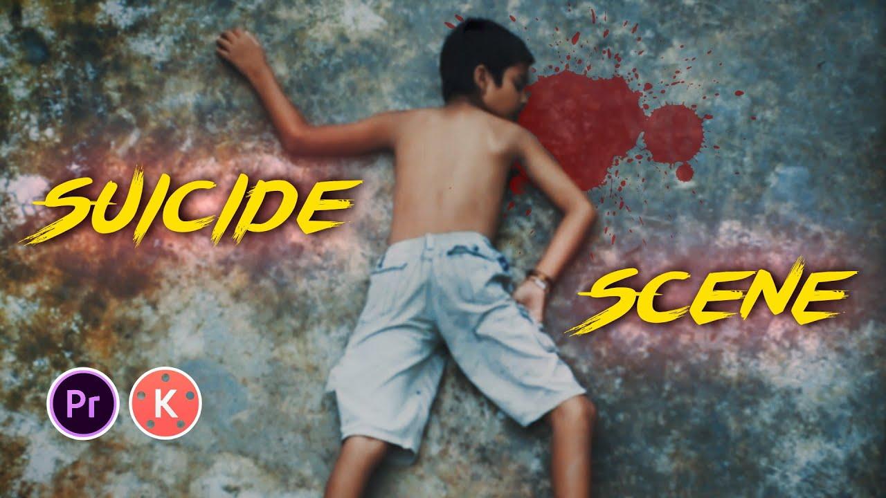 How To Shoot & Edit Suicide Scene For ShortFilm (Easiest Way)