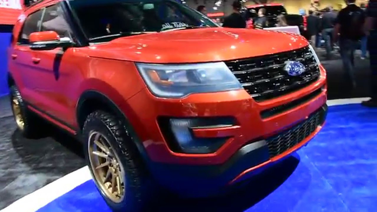2016 Ford Explorer Sport Offroad Sema Show 2017