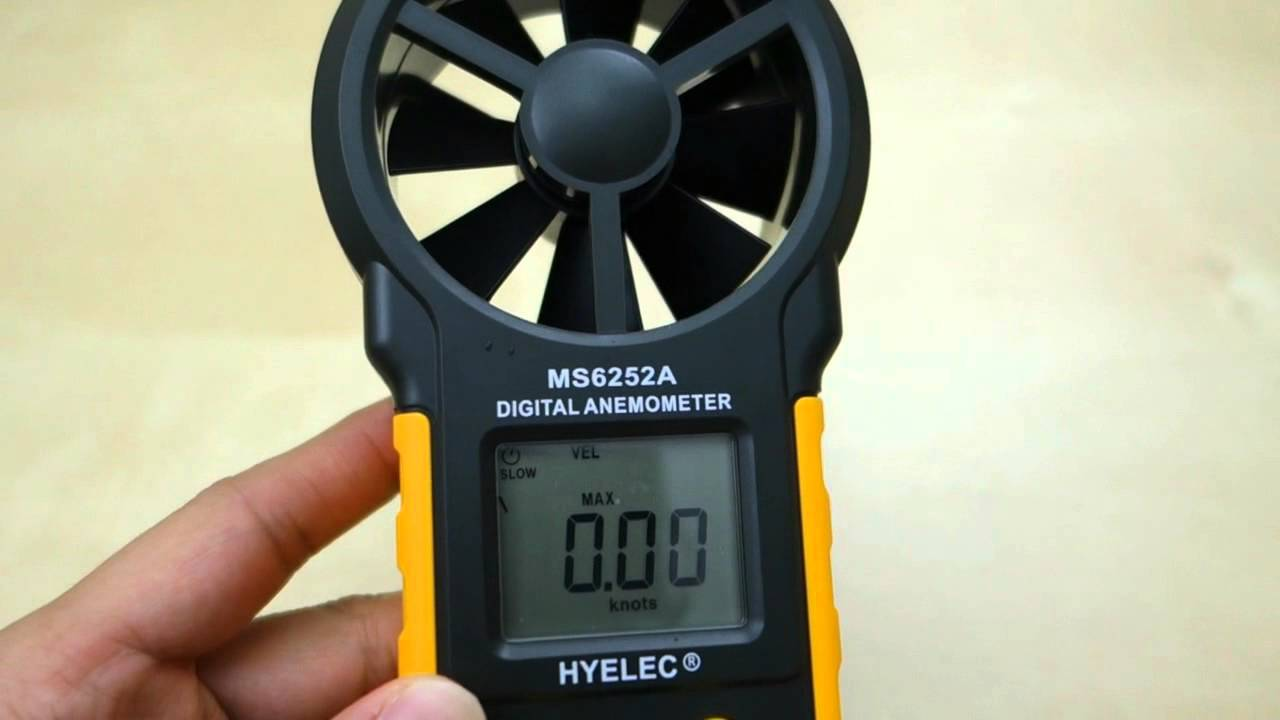 Hyelec Ms6252a Digital Anemometer  Wind Meter  Review