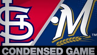 Condensed Game: STL@MIL - 4/17/19