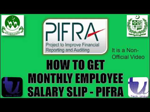 Here is How to Get Monthly Employe Salary Slip on Gmail - PIFRA (Step-by-Step Guidelines  [Urdu]