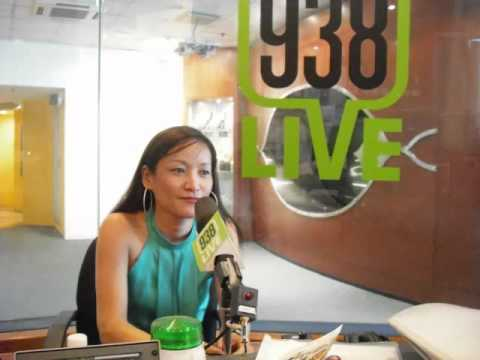 Singapore Radio Station 938Live Interviews Cynthia Zhai