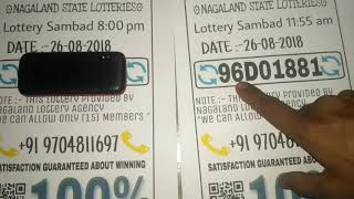 Nagaland Lottery Prediction Calculator