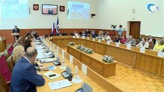 видео правительство новгородской области