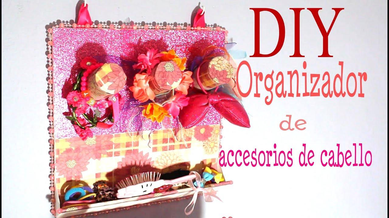 Organizador de accesorios para cabello youtube for Organizador de cocina accesorios