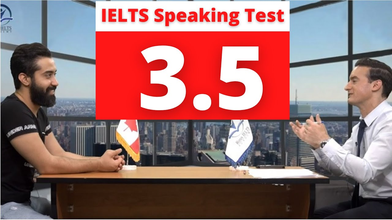 Download IELTS Speaking Test Band score 3.5 with feedback