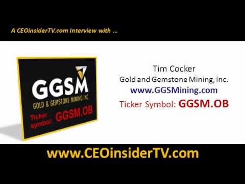 GGSM.OB Gold And Gemstone Mining Video Interview