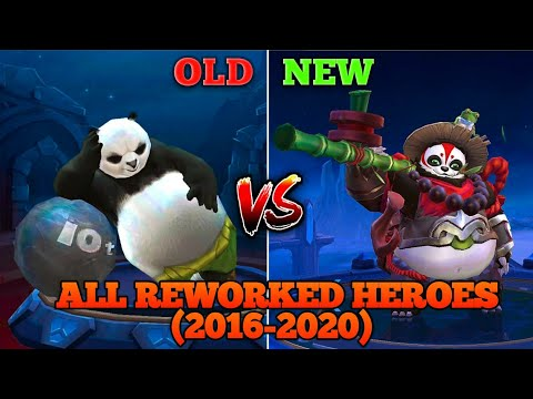 ALL THE REWORKED HERO SKILLS SINCE THE BEGINNING OF MOBILE LEGENDS