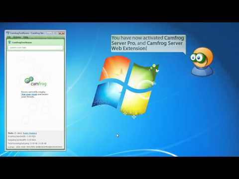 Enable Web Extension on Camfrog Server