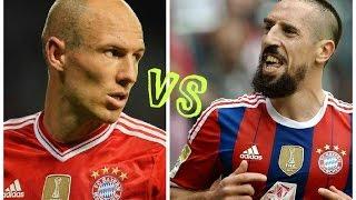 Robben vs Ribery►Legendary Wingers●Who's Better? ◄HD