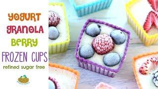 Frozen Yogurt Granola Berry Cups +12 Months recipe