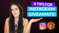 How to Host a Successful INSTAGRAM GIVEAWAY (+ enter to win my Instagram Courses!)