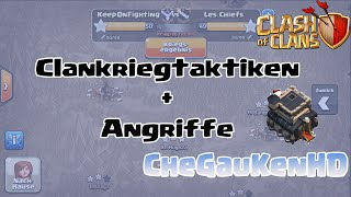 CLASH OF CLANS - Clankriegtaktiken & MEINE ANGRIFFE #1 ★ Let's Play Clash of Clans