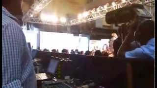 djsurr playing for a biggest fashion show beauty product in mumbai