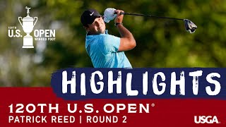 2020 U.S. Open, Round 2: Patrick Reed Highlights