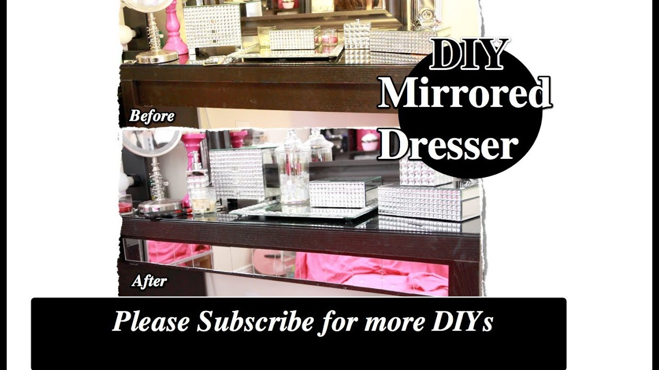 Diy Decorate Your Vanity With Mirrors Ikea Hack Malm Dressing Table
