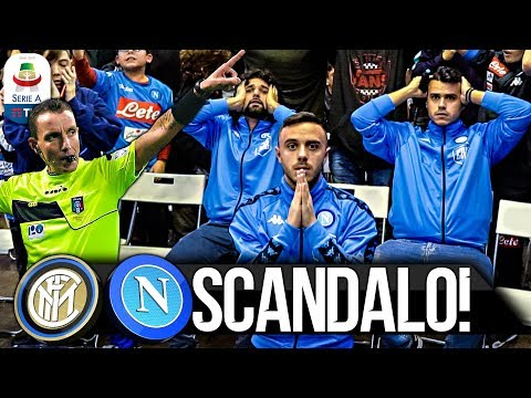 SCANDALO! INTER 1-0 NAPOLI | LIVE REACTION NAPOLETANI HD