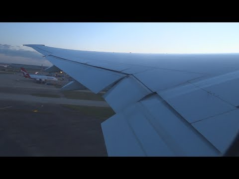 ANZ1 - London to Los Angeles 777-300ER (Full Flight)