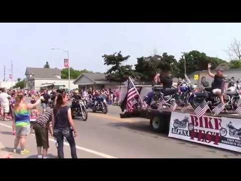 4th of July Parade in Alpena, MI 2015