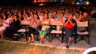 `HAJDUK STANKO` folklore ensemble performance on `Nikos Kazantzakis` Kipoteatro Heraklion, Kreete