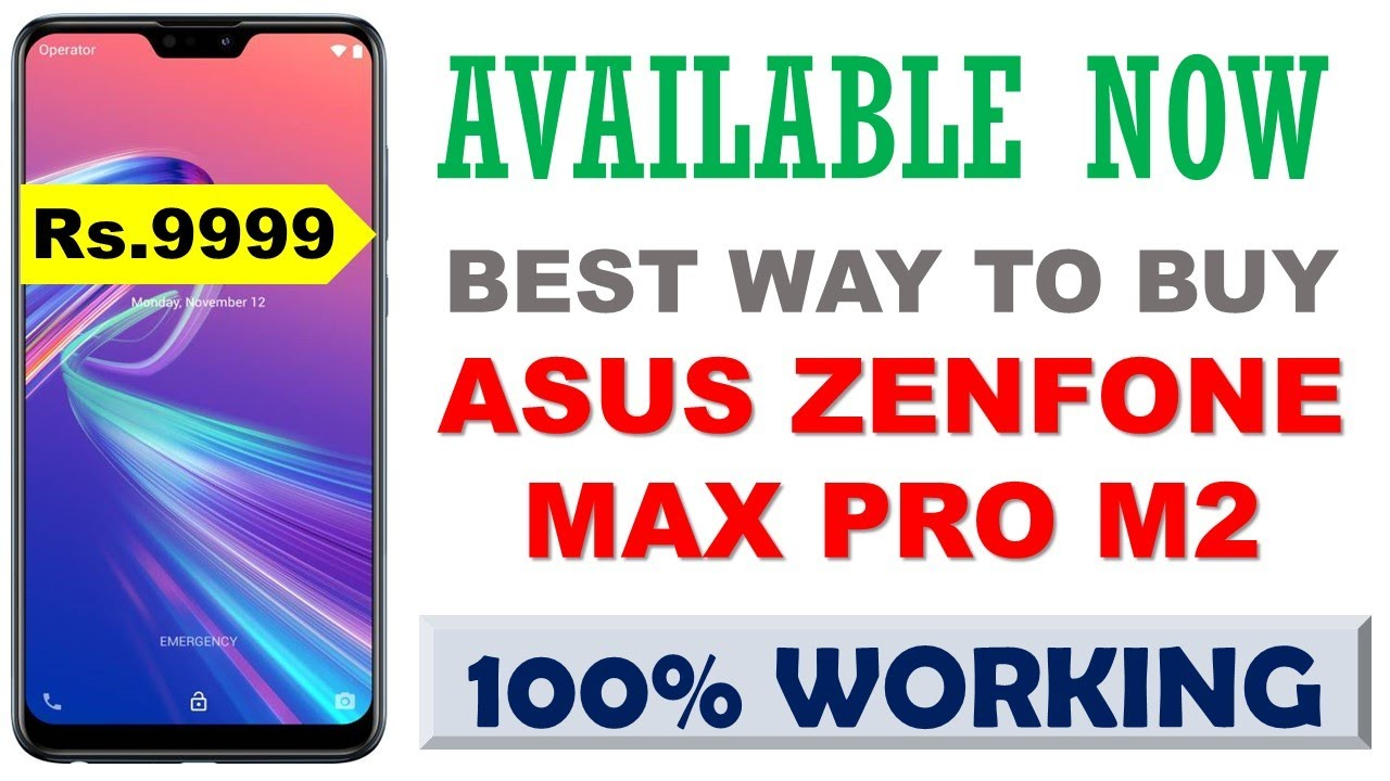 c5934dafe How To Buy Asus ZenFone Max Pro M2 in flash sale on Flipkart Trick in Hindi  - Next Sale date 2019