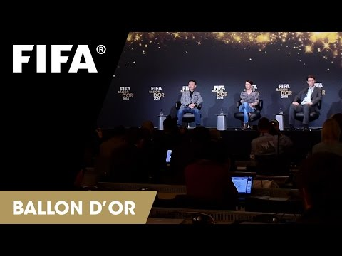 REPLAY: Coach of the Year for Women's Football Press Talk at the FIFA Ballon d'Or 2014
