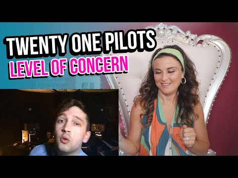 Vocal Coach Reacts to twenty one pilots - Level of Concern