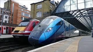 Transpennine Express Class 802 at Finsbury Park & London Kings Cross *HD*