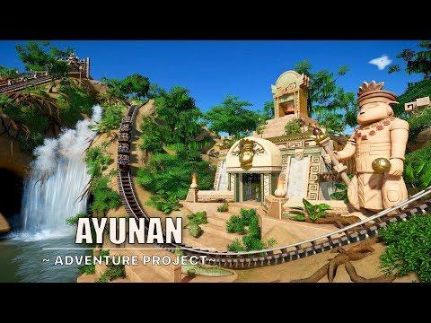 Ayunan [Gold Rush - Swinging Coaster] | Planet Coaster