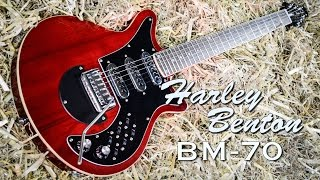Harley Benton BM-70 Trans Red - IN DEPTH Review