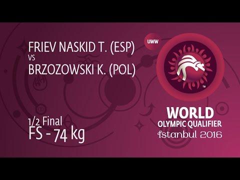 1/2 FS - 74 kg: T. FRIEV NASKID (ESP) df. K....