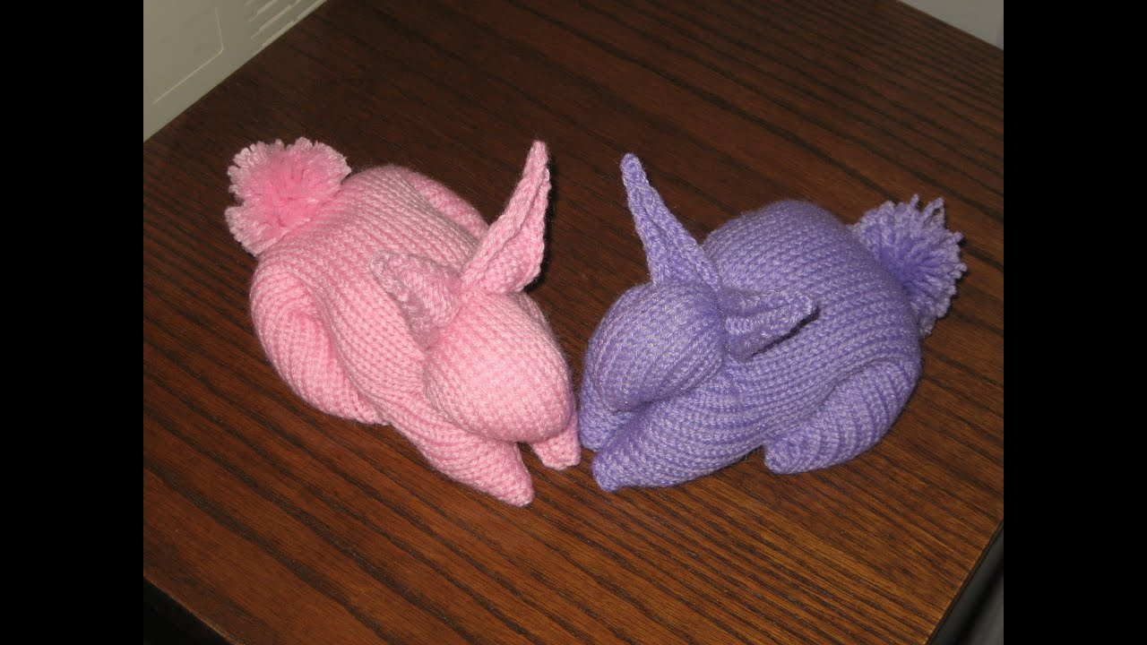Machine knitted bunny youtube bankloansurffo Choice Image