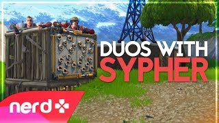 Carried by SypherPK | Fortnite Funny Moments | #NerdOut
