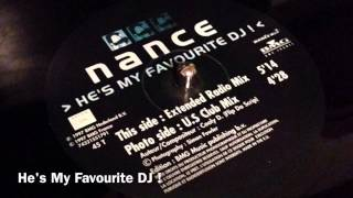 hes my favourite dj extended radio mix nance